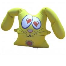 """Игрушка антистресс """"Жёлтый сердечный заяц"""""""