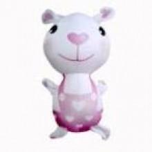 """Игрушка антистресс """"Заяц в розовом комбинезоне"""""""