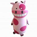 """Игрушка антистресс """"Веселая корова розовая"""""""