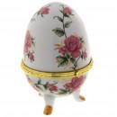 """Шкатулка-яйцо """"Чайные розы"""""""