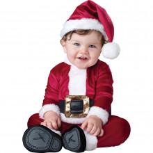 Маленький костюм санты для малыша