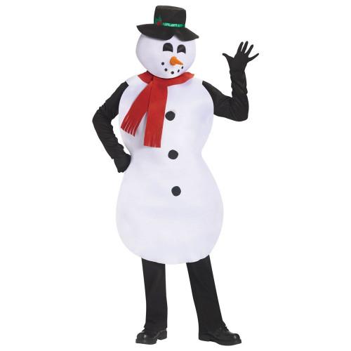 Взрослый костюм снеговика своими руками 101