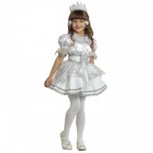 Новогодний костюм снежинки для девочки