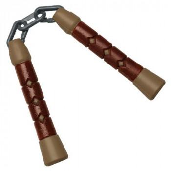 Пластиковое оружие черепашки-ниндзя Микеланджело - Нунчаки