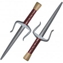 Пластиковое оружие черепашки-ниндзя Рафаэля - Саи