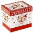 Кружка с красными сердечками в подарочной коробке, 350 мл