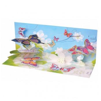 "Объемная открытка ""Бабочки"""