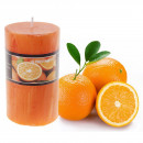 Свеча с ароматом апельсина