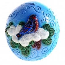 """Новогодняя свеча """"Снегири"""""""