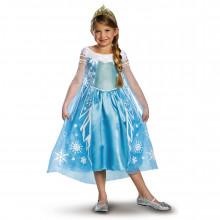 Новогоднее платье для девочки голубое