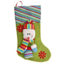 "Новогодний носок для подарков ""Снеговик в варежках"""