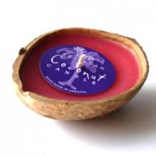 Ароматическая кокосовая свеча ручной работы