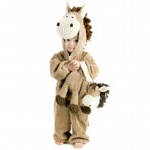 Детский костюм лошади вельветовый