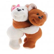 """Мягкая игрушка """"Влюбленные медвежата"""""""