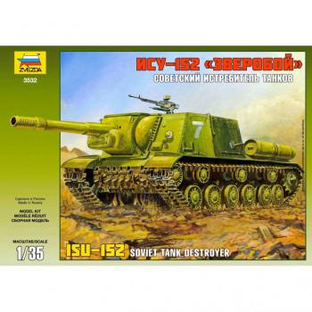 """Танк ИСУ-152 """"Зверобой"""", 1/35, подарочный набор"""