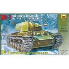 Советский тяжелый танк КВ-1, 1/35