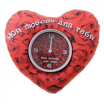 """Часы настольные """"Моя любовь для тебя"""""""