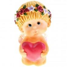 Сувенир ангелочек с сердечком