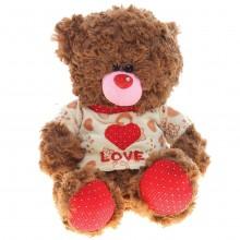 """Мягкая игрушка """"Мишка в кофте LOVE"""", 38 см"""